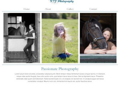 KTJ Photography Website