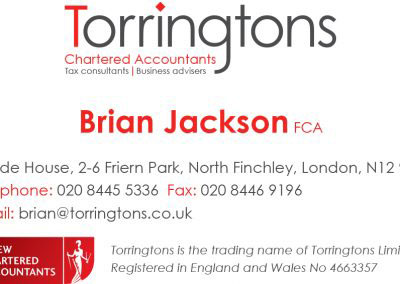Torringtons re-brand