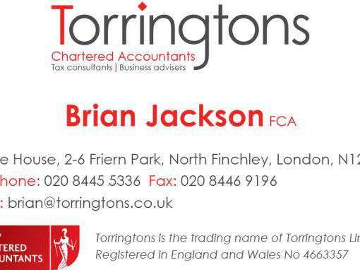 Torringtons re-brand