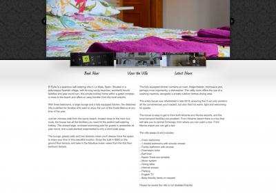 La Mata Villa Website
