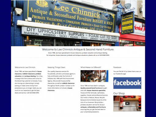 Lee Chinnick Website