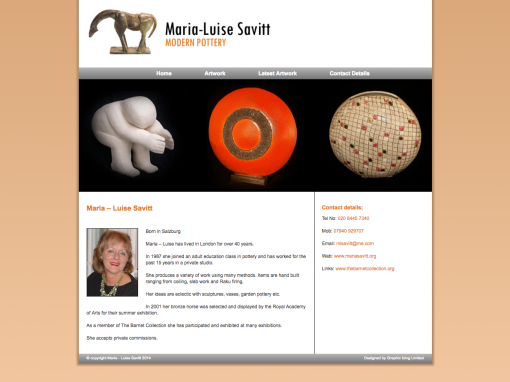 Maria Savitt Website