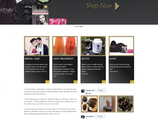 Hair By Vieri Website