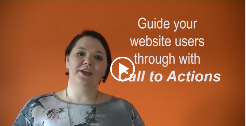 Guide your website users through with call to actions