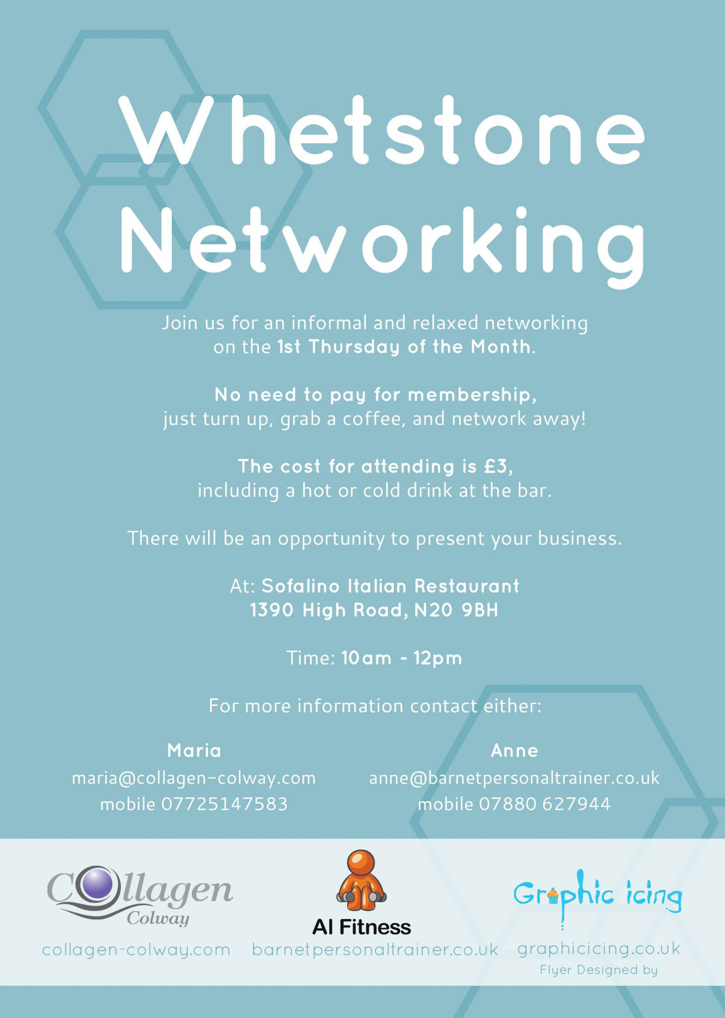 Whetstone Networking Flyer Design