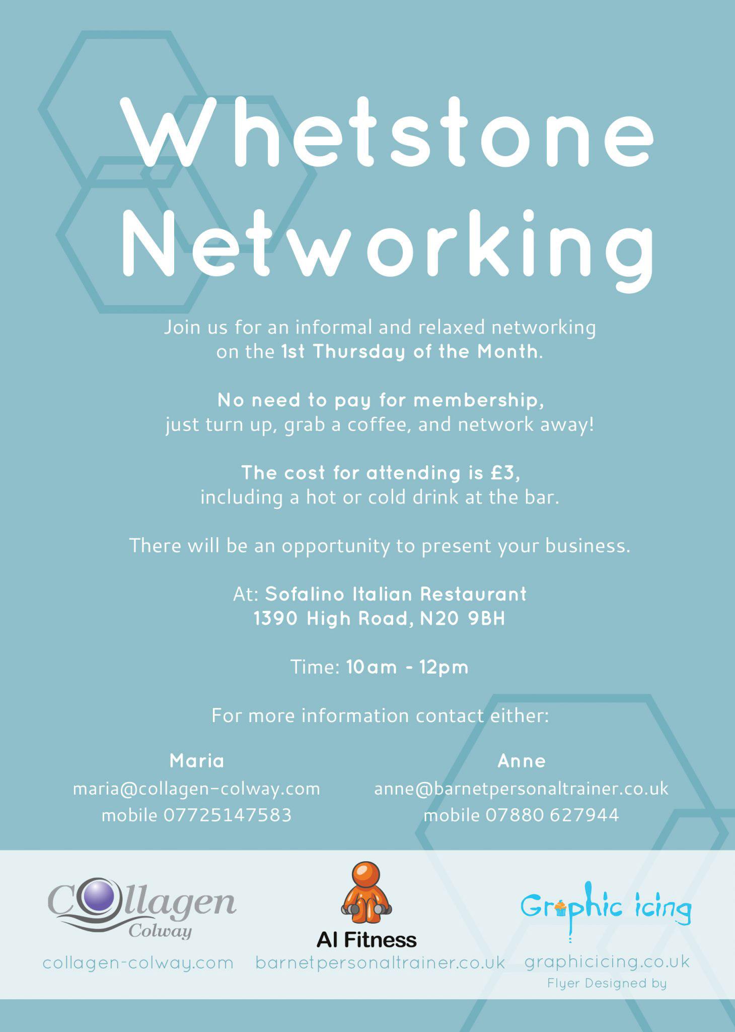 Whetstone Networking Flyer Design